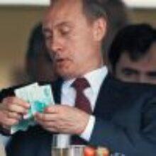 Путин больше не будет занимать у Медведева до получки