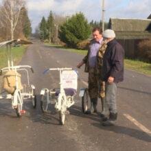 Белорусский Кулибин заново изобрел велосипед