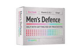 Men's Defence от простатита: натуральный препарат для профилактики и избавления от мужских недугов