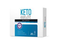 KETO eat&fit BHB COMPLEX для похудения на основе кетогенной диеты: сбросьте лишний вес без интенсивных нагрузок