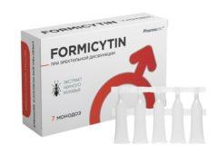 Формицитин для потенции: подходит для мужчин от 20 до 60 лет
