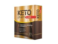 Keto Pharm Luxe для похудения: выводит из организма опасный «внутренний» жир