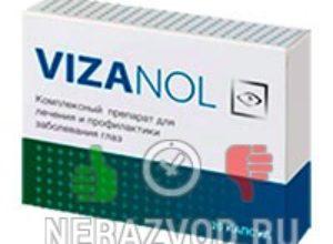 Vizanol – таблетки для улучшения зрения