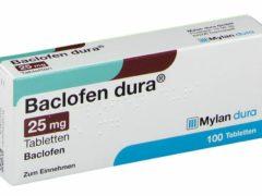 Баклофен — инструкция по применению препарата