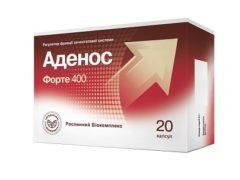 Аденос Форте от простатита: ликвидирует боль, рези, жжение в паху и пояснице